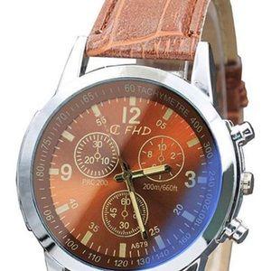 Men's Belt Sport Quartz Watch